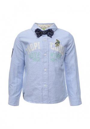 Рубашка Catimini. Цвет: голубой