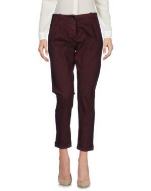Повседневные брюки NINE:INTHE:MORNING. Цвет: какао