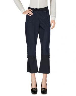 Повседневные брюки MARITHÉ + FRANÇOIS GIRBAUD. Цвет: темно-синий