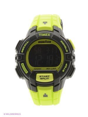 Часы TIMEX. Цвет: салатовый