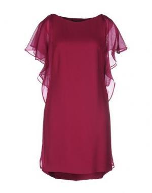 Короткое платье SPACE. Цвет: пурпурный
