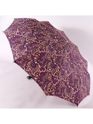 Зонт Zest. Цвет: темно-коричневый, фиолетовый