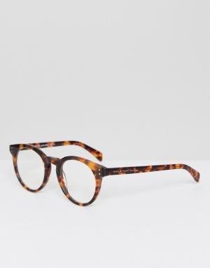 Marc Jacobs Очки в круглой оправе By. Цвет: коричневый
