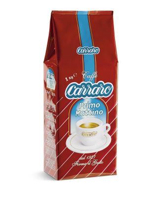 Carraro Primo Mattino 1 кг вак (зерн). Цвет: коричневый