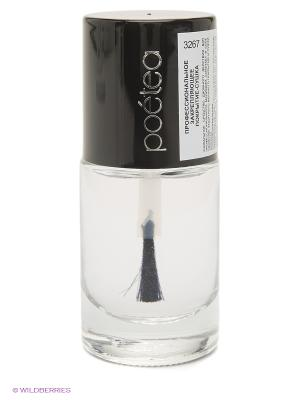 Профессиональное закрепляющее покрытие-сушка для ногтей . POETEQ. Цвет: прозрачный