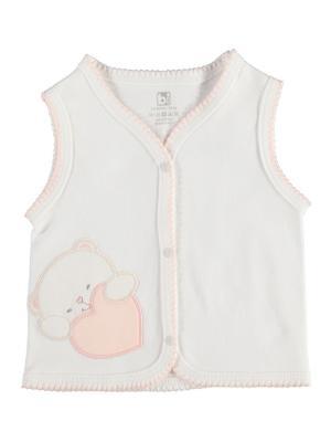 Жилет детский Bi Baby 61087/кремовый-персиковый