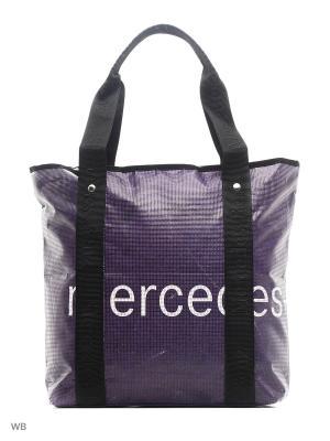 Сумка MERCEDES-BENZ. Цвет: фиолетовый