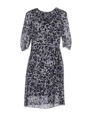 Короткое платье WHISTLES. Цвет: темно-синий