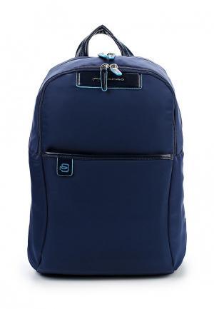 Рюкзак Piquadro. Цвет: синий