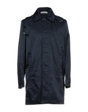 Легкое пальто BIKKEMBERGS. Цвет: темно-синий