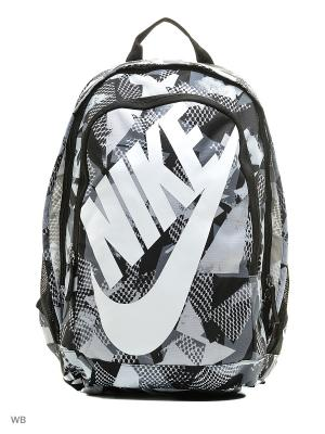 Рюкзак NIKE HAYWARD FUTURA 2.0 - PRIN. Цвет: черный, серый, белый