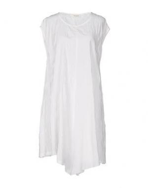 Платье до колена UN-NAMABLE. Цвет: белый