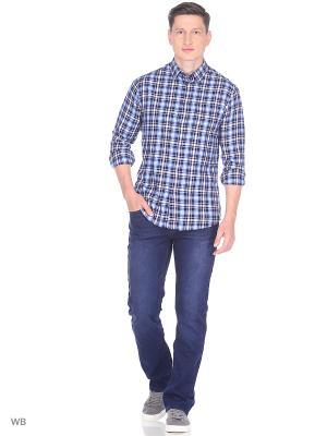 Рубашка Greg Horman. Цвет: черный, синий