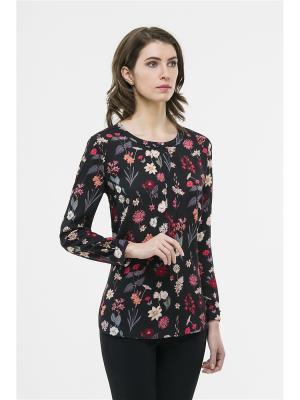 Блузка Modern. Цвет: черный