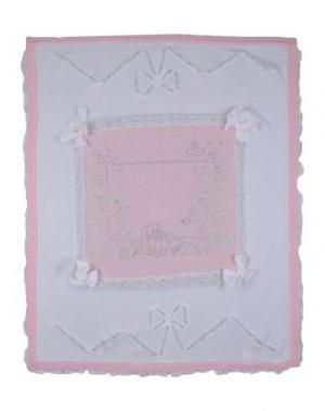Одеяльце для младенцев LADIA. Цвет: белый