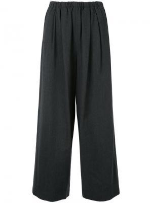Укороченные брюки клеш Enföld. Цвет: серый