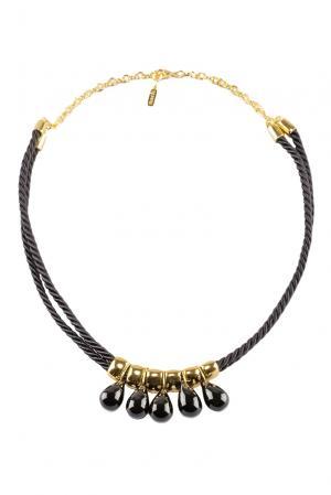 Колье 117065 Nach Jewellery. Цвет: черный