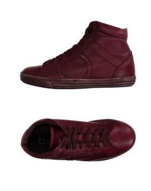Высокие кеды и кроссовки PLAYHAT. Цвет: пурпурный