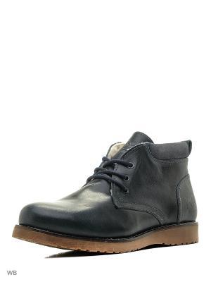 Ботинки El Tempo. Цвет: темно-зеленый, серый