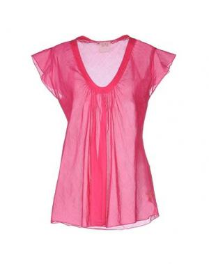 Блузка NOLITA. Цвет: фуксия