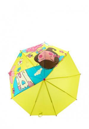 Зонт-трость Modis. Цвет: желтый