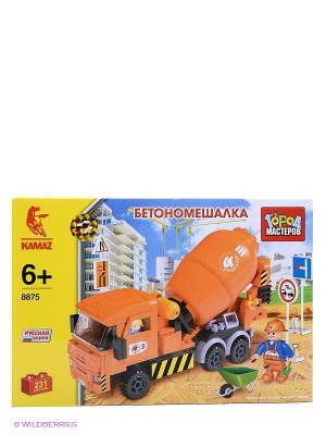 Конструктор Город мастеров. Цвет: оранжевый, желтый