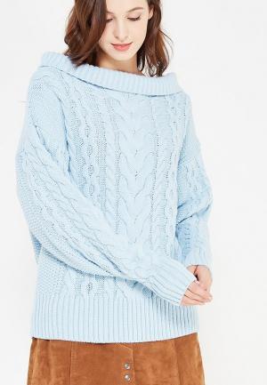 Свитер Demurya Collection. Цвет: голубой