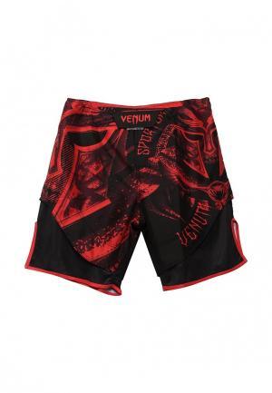 Шорты спортивные Venum. Цвет: красный