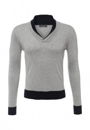 Пуловер Occhibelli. Цвет: серый