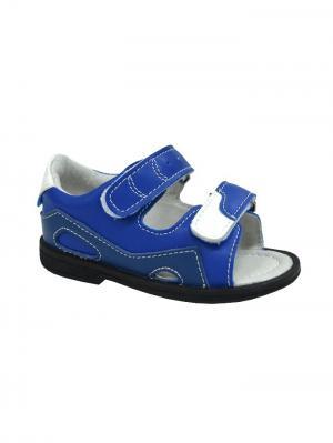 Обувь ортопедическая малосложная ALBENGA, арт. 7.52.2 ORTMANN. Цвет: синий