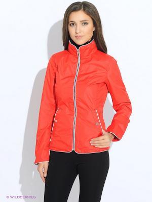 Куртка Oodji. Цвет: красный
