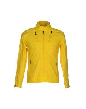 Куртка DAVID NAMAN. Цвет: желтый