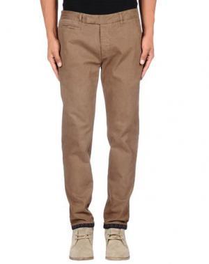 Повседневные брюки G2CHOICE. Цвет: хаки