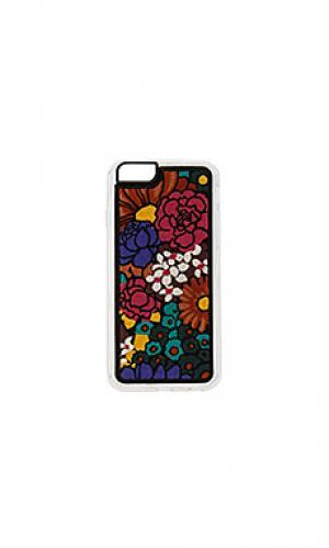 Чехол для iphone 6/6s woodstock ZERO GRAVITY. Цвет: красный