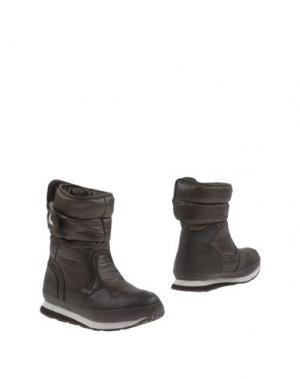 Полусапоги и высокие ботинки RUBBER DUCK. Цвет: темно-коричневый