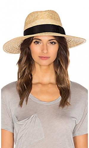 Шляпа joanna Brixton. Цвет: беж