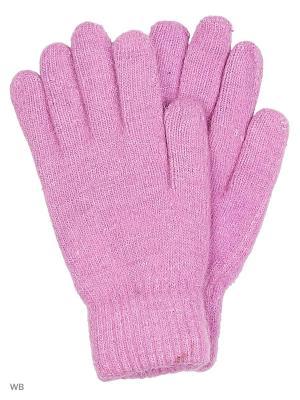 Перчатки Punta. Цвет: сиреневый