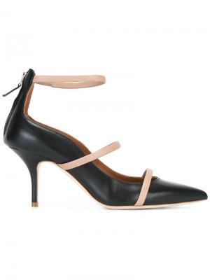 Туфли-лодочки Glomer Malone Souliers. Цвет: чёрный