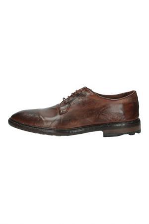 Туфли Officine Creative. Цвет: коричневый
