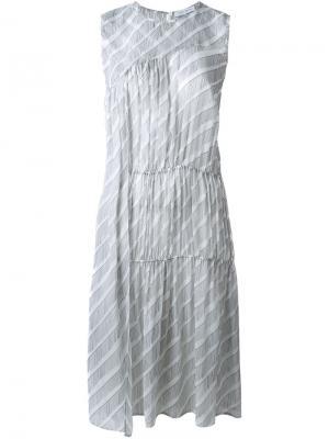 Платье Derra Christian Wijnants. Цвет: белый