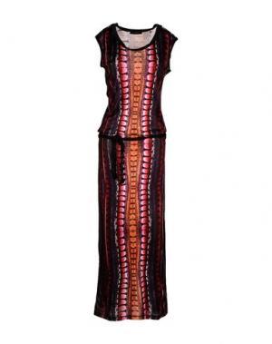 Длинное платье CUSTO BARCELONA. Цвет: черный