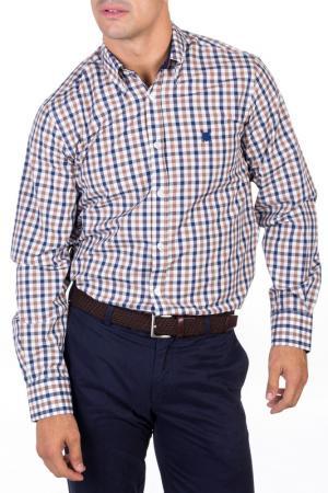 Рубашка POLO CLUB С.H.A.. Цвет: бежевый
