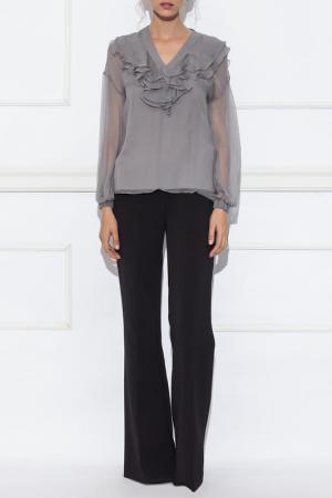 Блуза Nissa. Цвет: серый