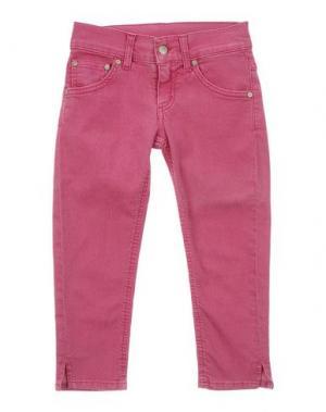 Джинсовые брюки DONDUP DQUEEN. Цвет: фуксия