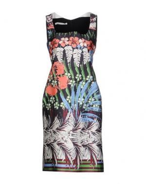 Короткое платье AQUILANO-RIMONDI. Цвет: темно-синий