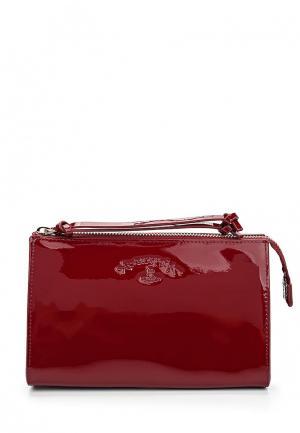 Косметичка Vivienne Westwood Anglomania. Цвет: бордовый