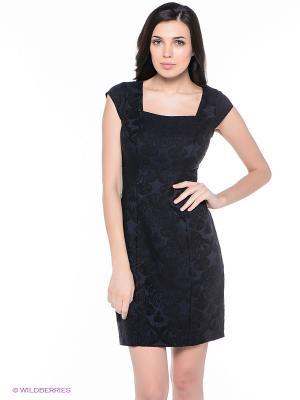 Платье adL. Цвет: темно-синий, черный