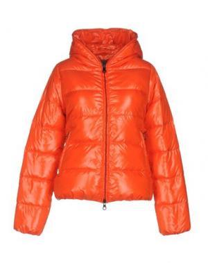 Пуховик DUVETICA. Цвет: оранжевый