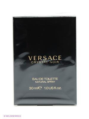 Туалетная вода Crystal Noir, 30мл. Versace. Цвет: прозрачный
