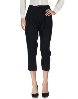 Повседневные брюки NOVEMB3R. Цвет: черный